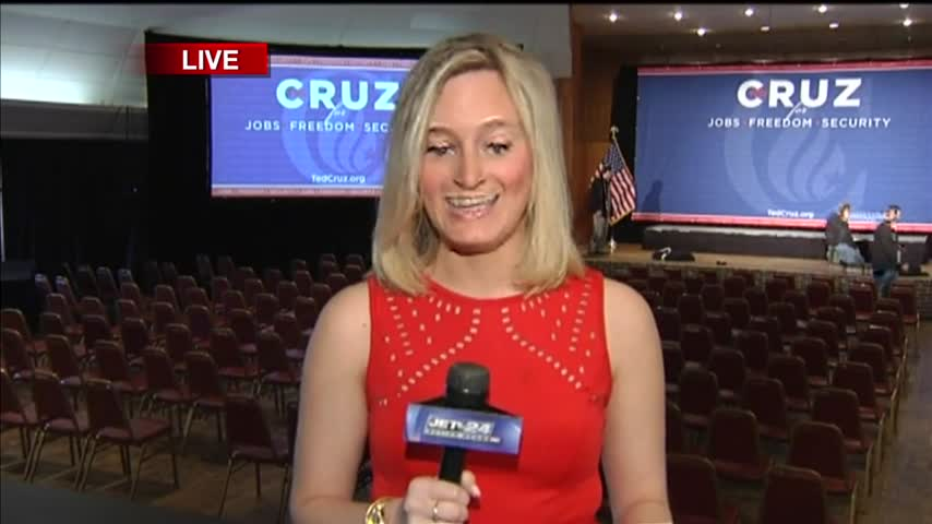 Ted Cruz campaigns in Erie Noon Liveshot_26814110-159532