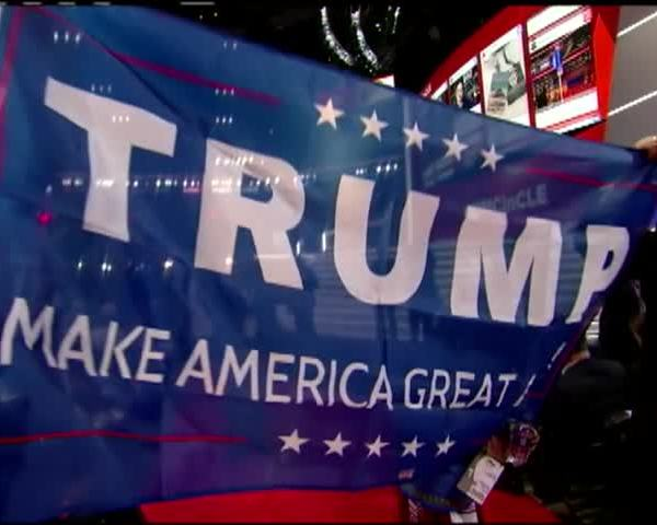Tumultuous opening for GOP convention- -Never Trump- push sh_51197046-159532