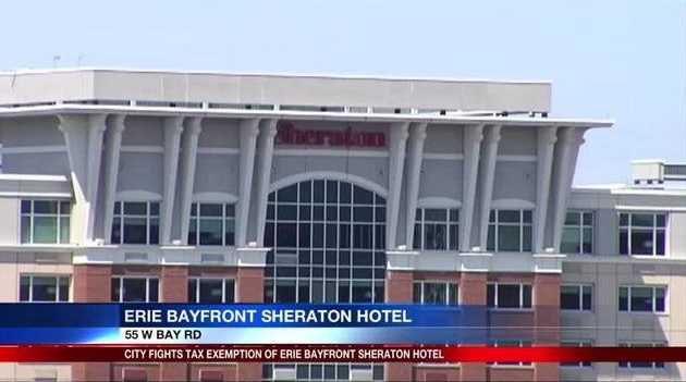 Board rules both Sheraton and Marriott bayfront hotels are