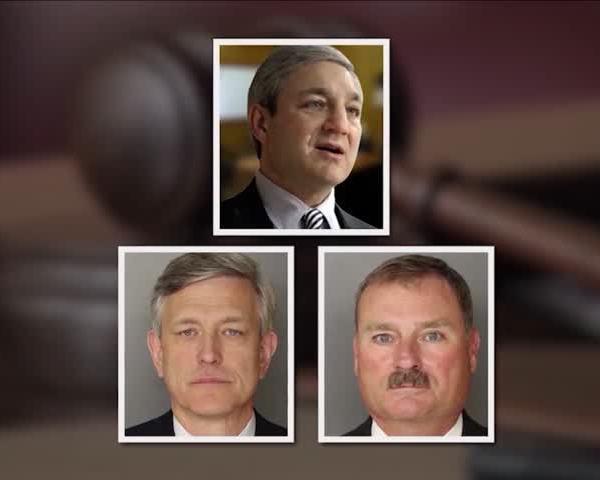Graham Spanier, Jerry Sandusky, Tim Curley, Gary Schultz PSU