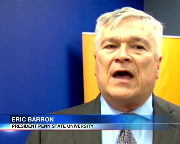 Penn State Greek Life Meeting, Eric Barron