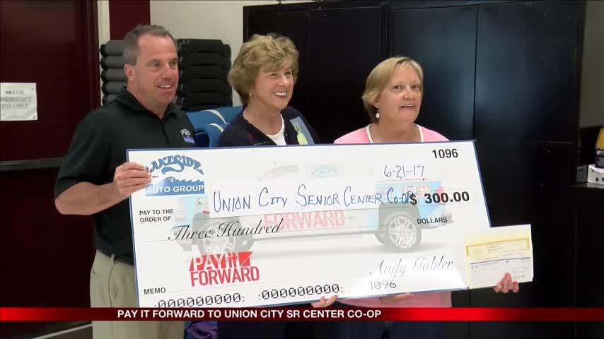 Pay It Forward, Union City Senior's Center