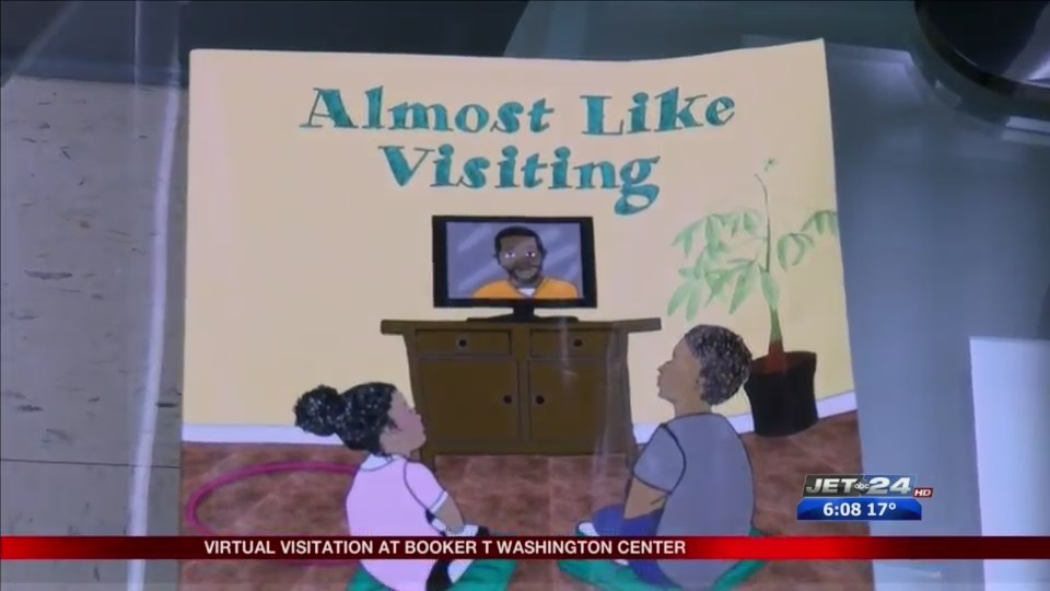 Virtual Visitation allows loved ones to see inmates without