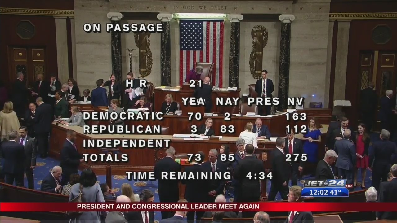 Shutdown, Day 14: Democrats offer two bills to end shutdown