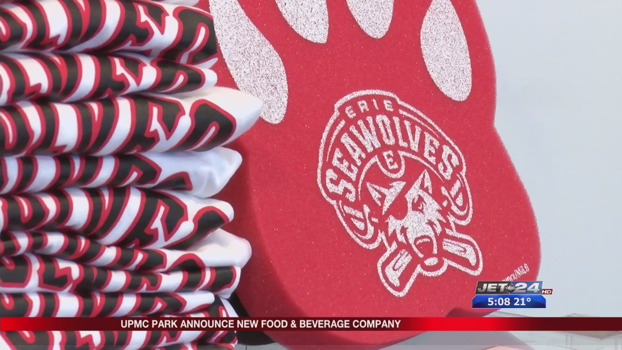 SeaWolves announcing new Food and Beverage Company for UPMC Park