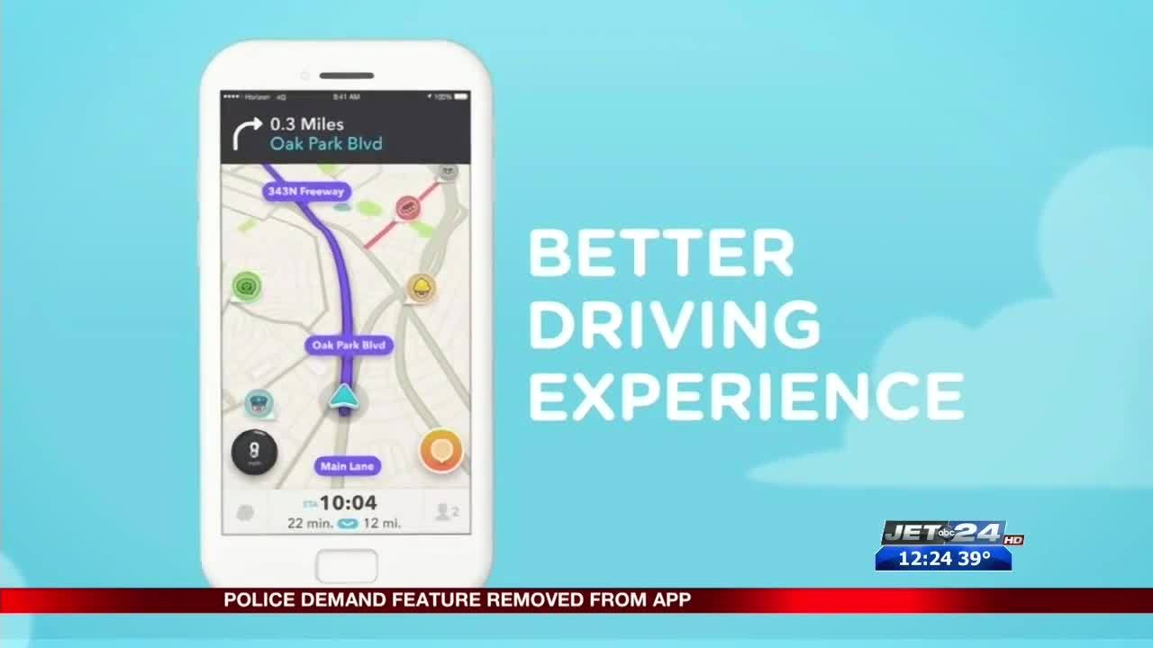 Police demand Google remove Waze app that alerts drivers of