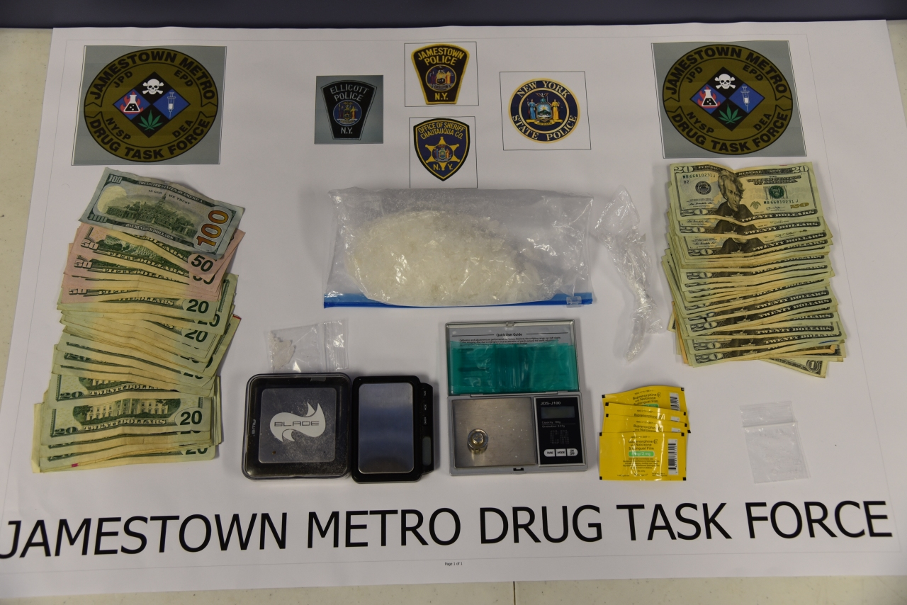 large meth seizure in jamestown  ny