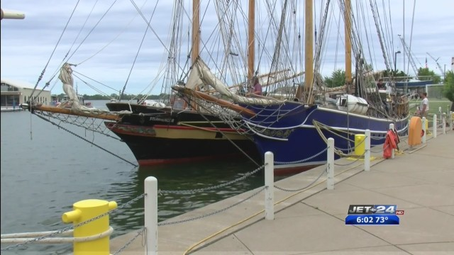 Playfair sails into port for Erie's Tall Ships Festival