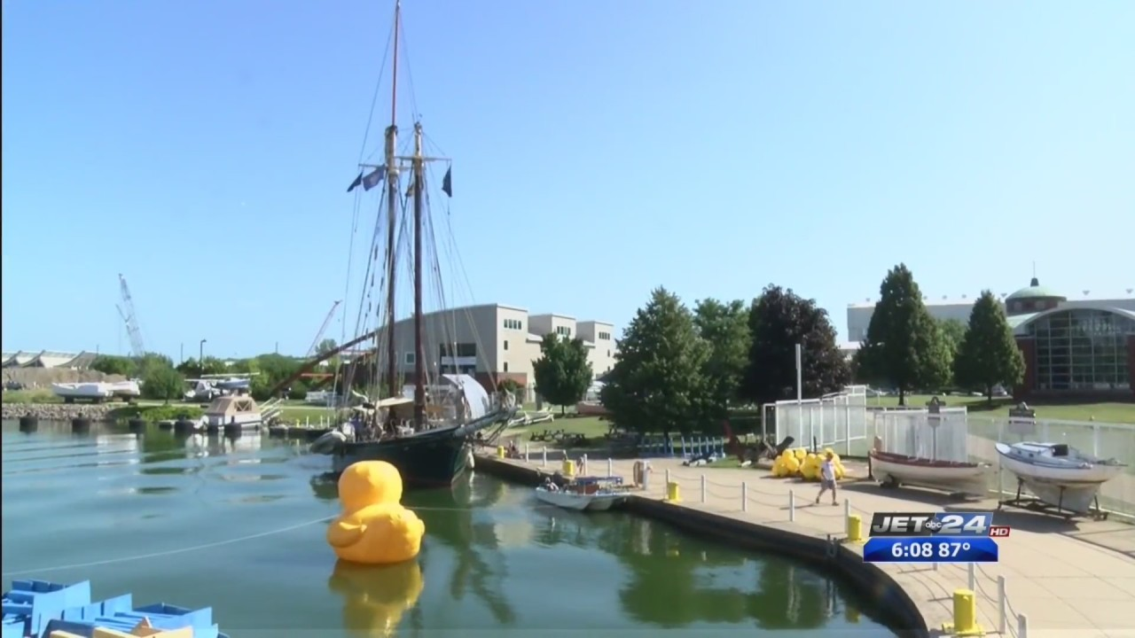 erie prepares for 2019 tall ships festival