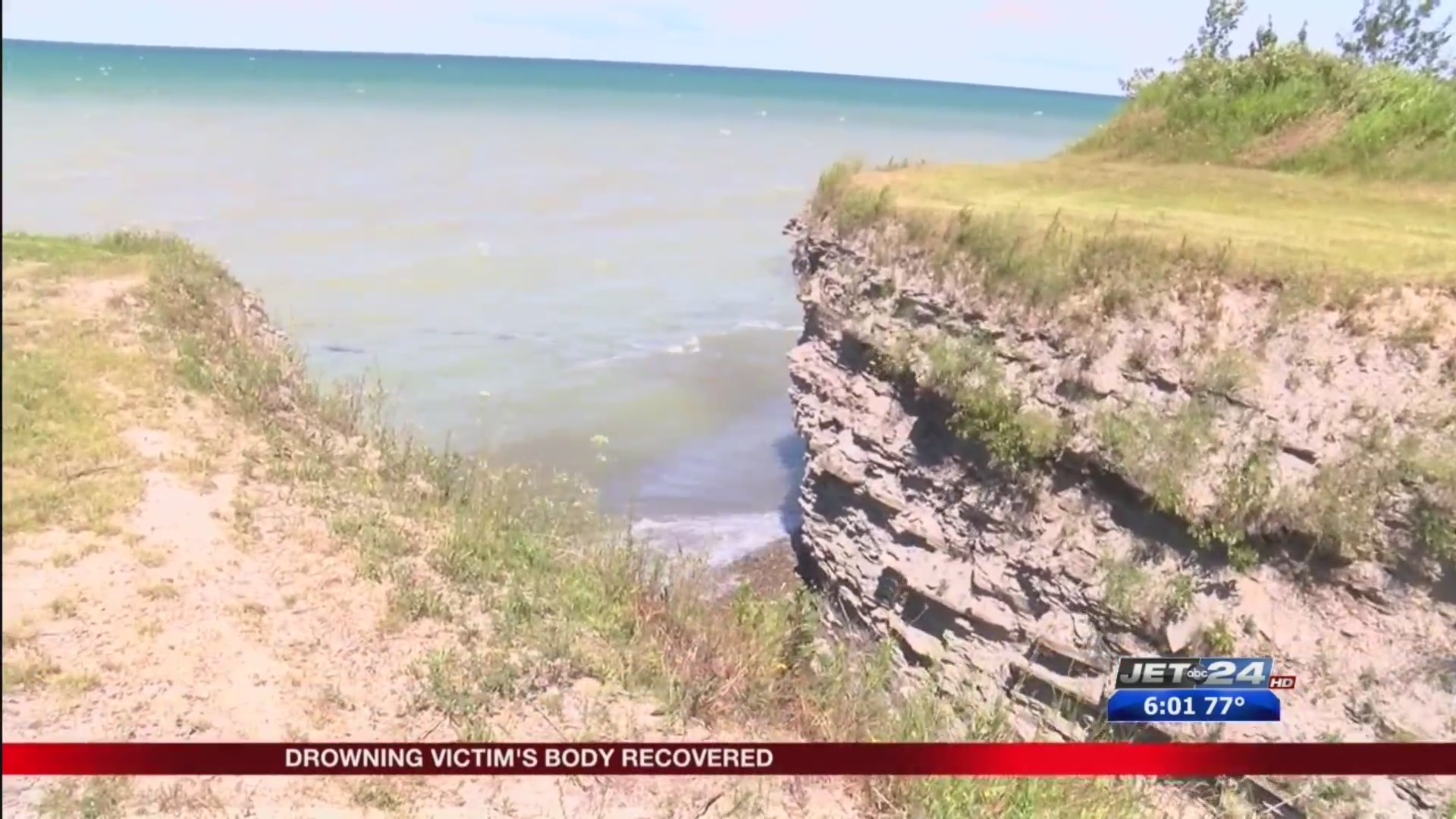 Rough water conditions likely cause in cliff diving accident