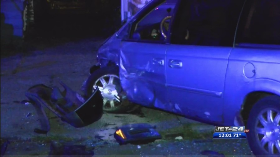 One arrested following reported hit and run car accident on