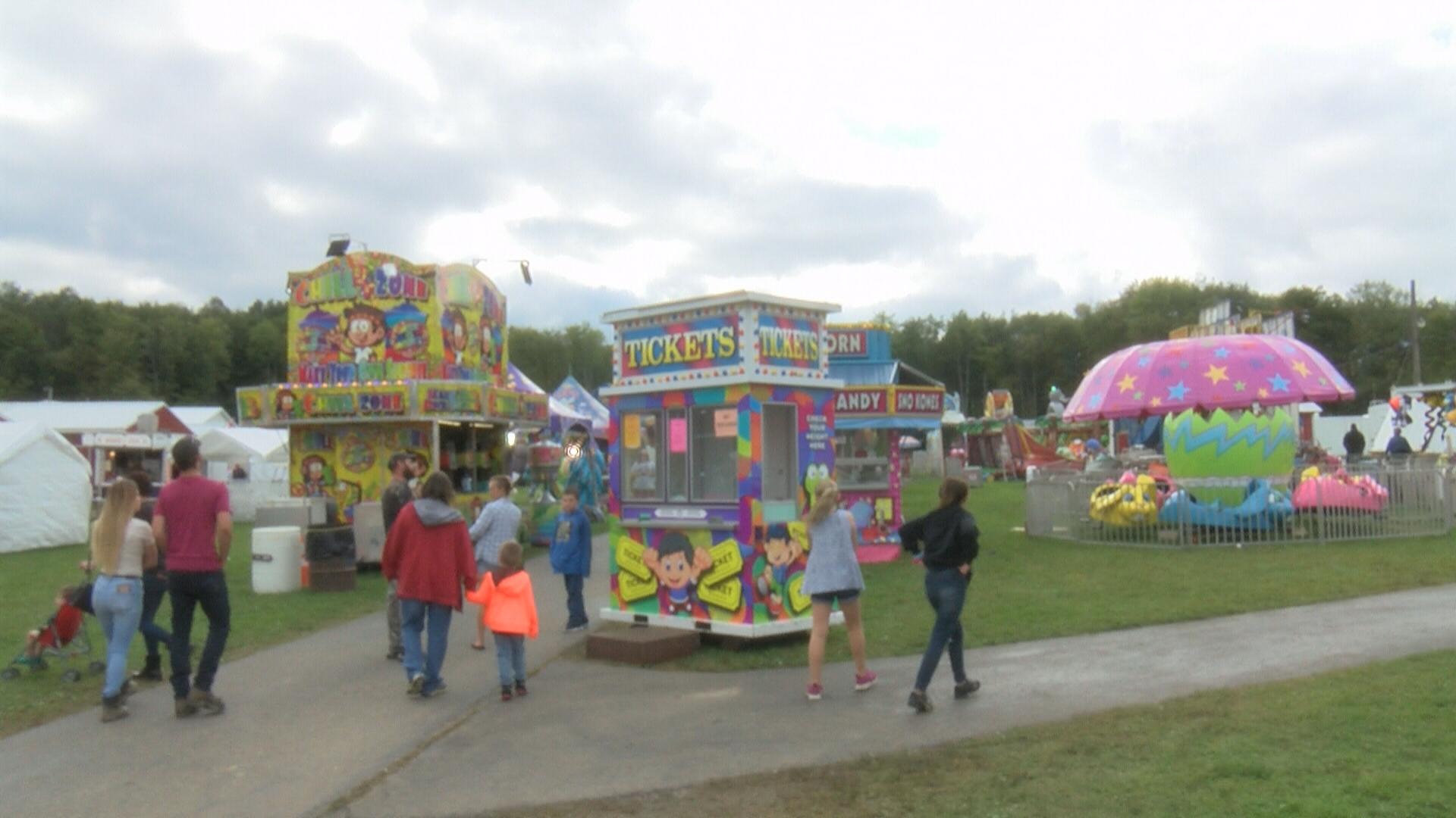Spartansburg Fair 2020.98th Annual Spartansburg Community Fair Taking Place Wjet