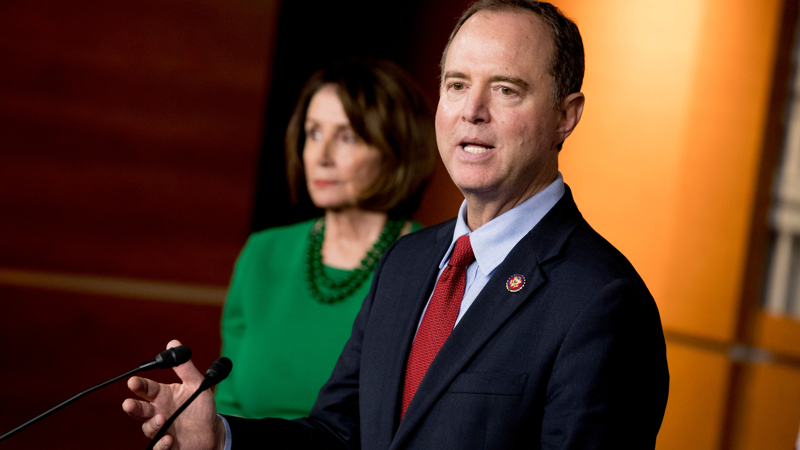 Nancy Pelosi, Adam Schiff