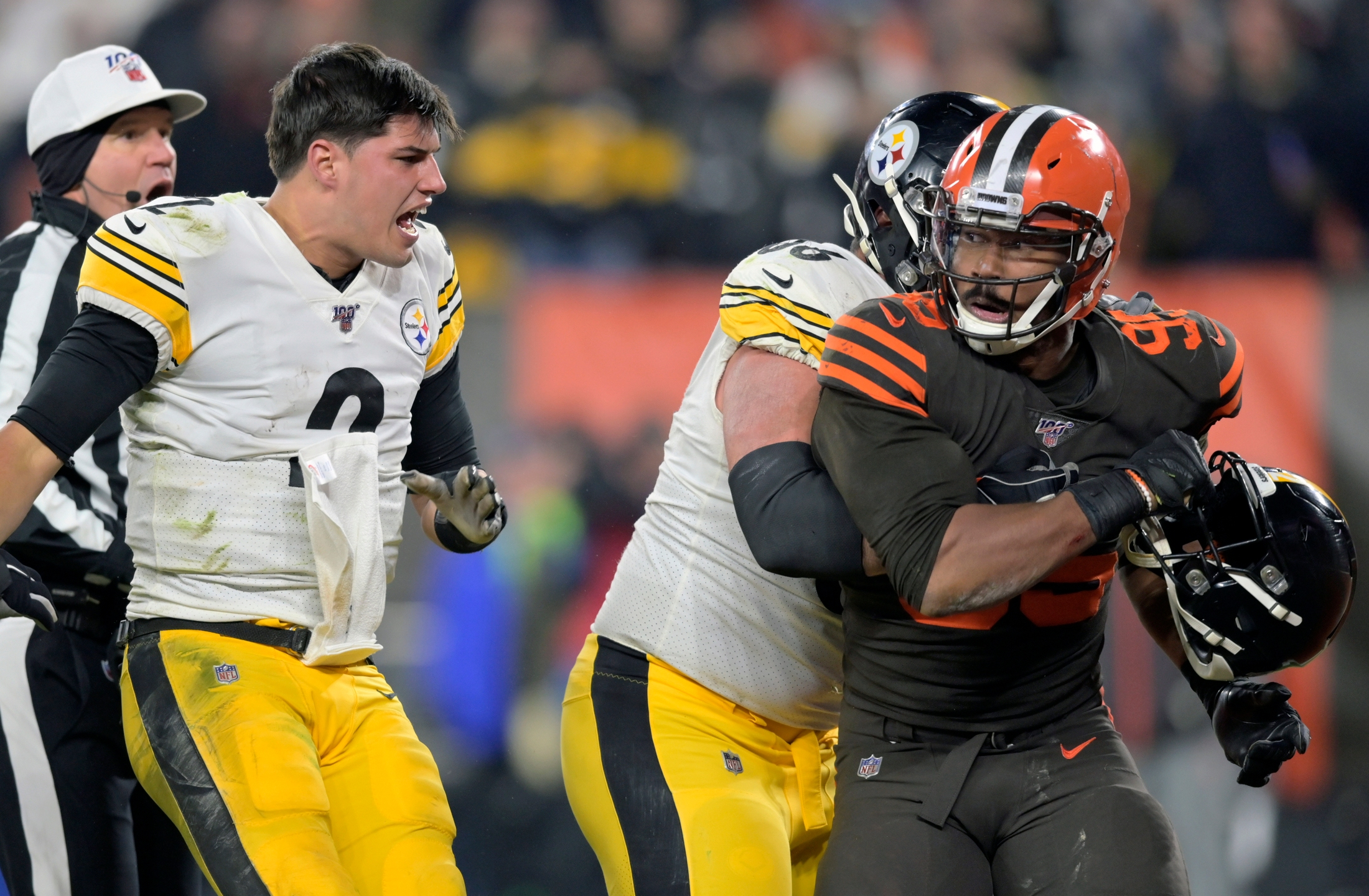 Nfl Hands Out Suspensions Fines Following Steelers Browns