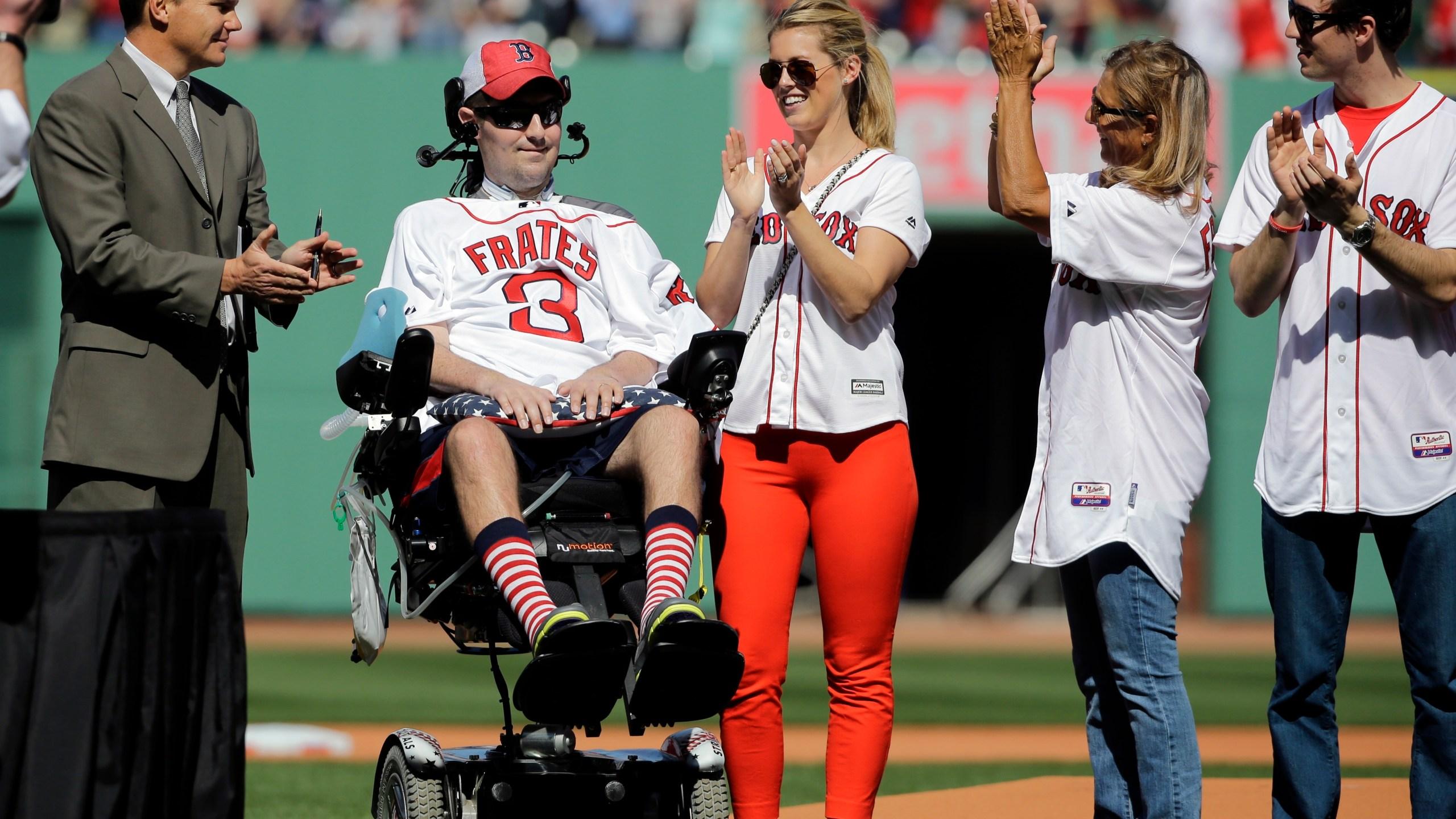 Pete Frates, Julie Frates, Ben Cherington