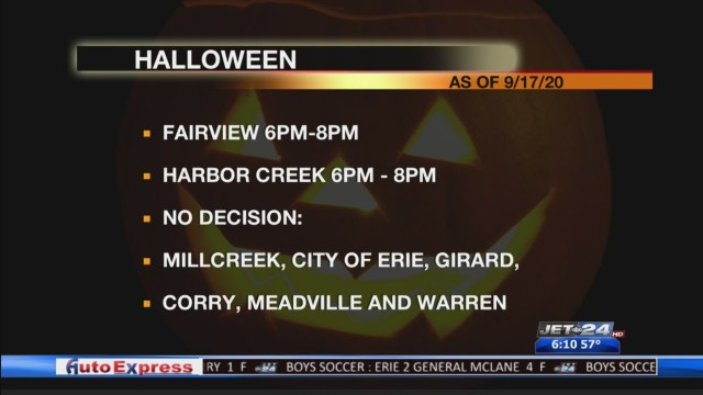 Halloween Hours Erie 2020 Halloween 2020: Local municipalities to make decision on trick or
