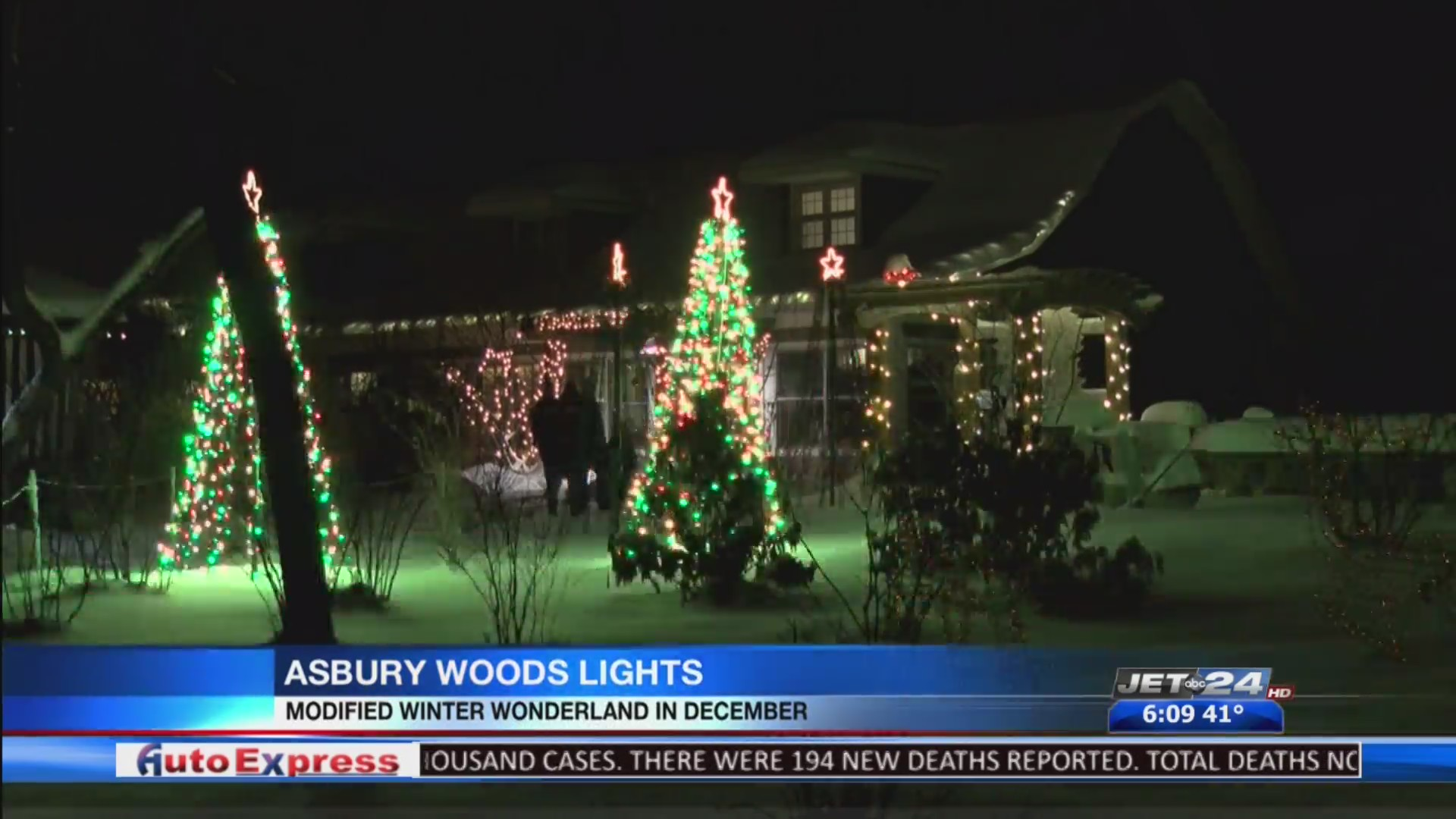 Walk Through Holiday Lights At No Cost All December Long During Asbury Woods Winter Wonderland Wjet Wfxp Yourerie Com