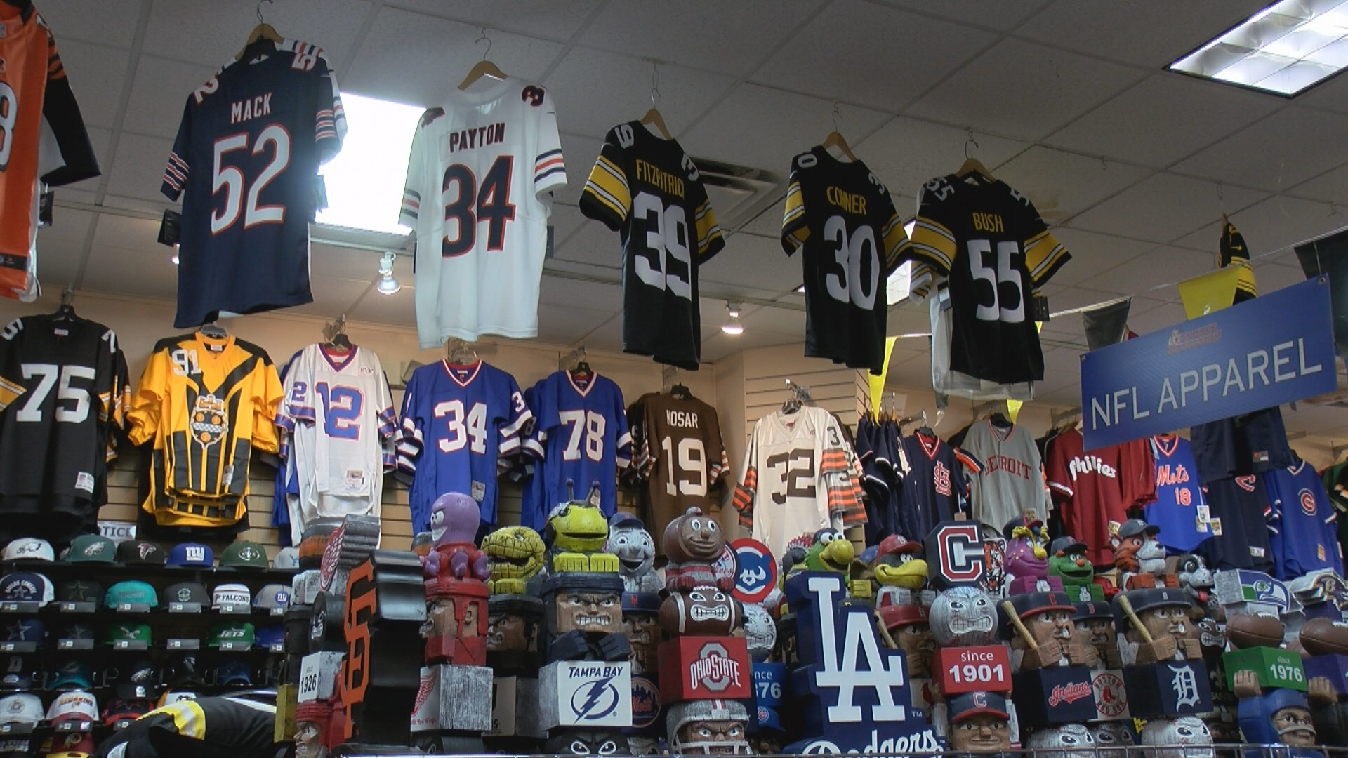 Local sports teams cause increase in sales for local sports store ...