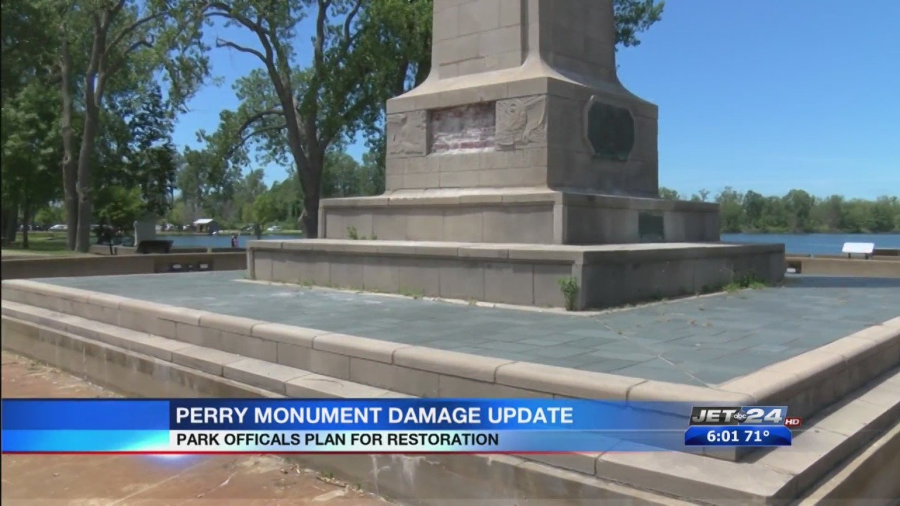 Presque Isle State Park officials respond to concerns over the damage to Perry Monument jpg?w=1280.