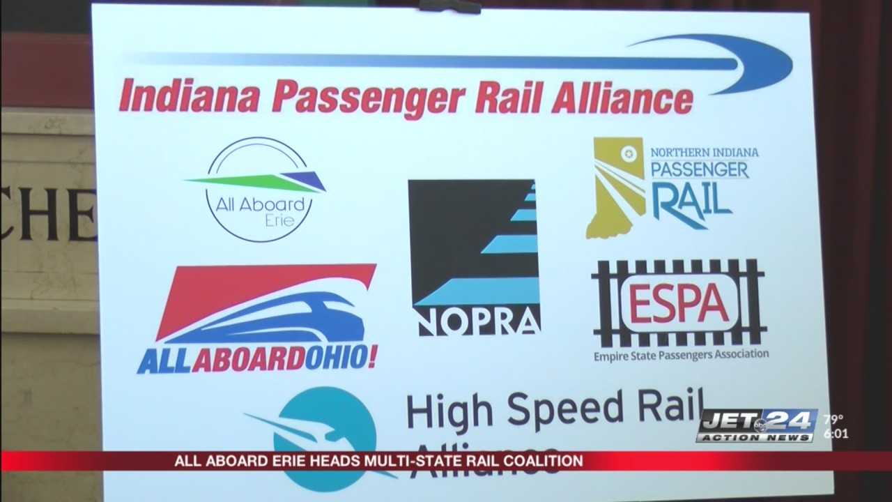 All Aboard Erie leads multi-state rail coalition | WJET/WFXP/YourErie.com